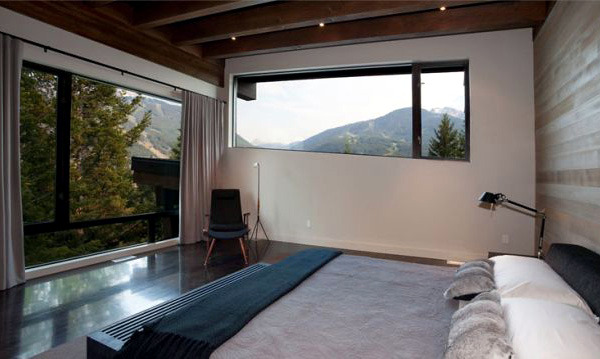 The Compass Pointe House - a modern house in the mountains