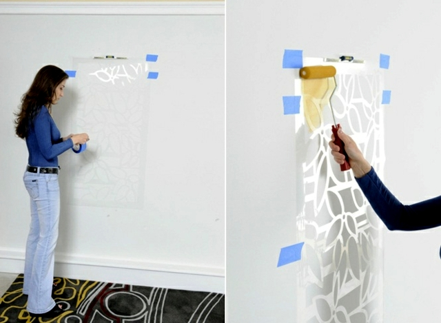 Paint The Walls 21 Creative Wall Templates Including Instructions