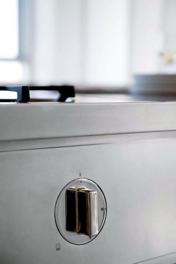 Stainless steel kitchen Abimis - Where the design and function of current in the other