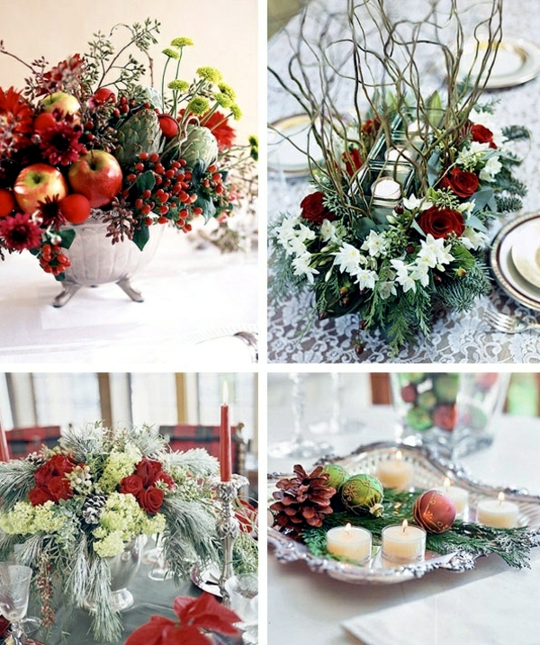 Small High Impact Decor Ideas: Decorating The Christmas Table – Little Touches With A Big Impact