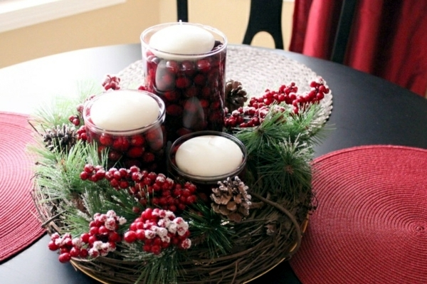 Decorating the Christmas table - little touches with a big impact