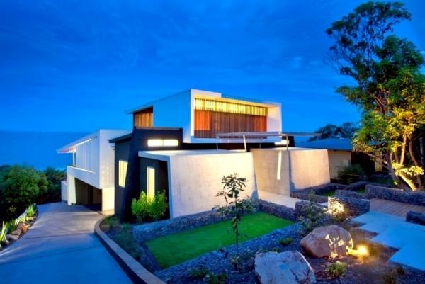 Design Contemporary Beach House With Attractive Facade Interior Adorable Beach Home Design