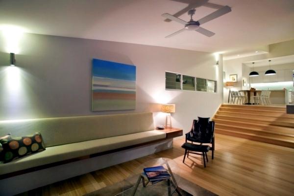 Design contemporary beach house with attractive facade