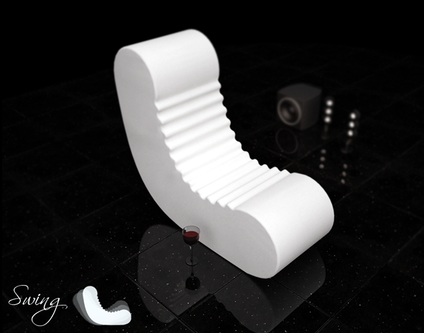 The innovative lounge chair and relax designer Alexander Christoff