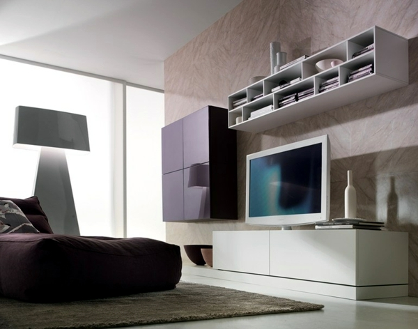 Living Trends 2015 - clean room wall is a modern idea