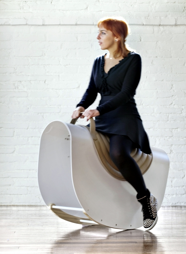 Furniture design rocking horse for Lanzavecchia + Wai adults