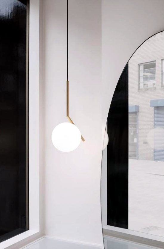 Pendant lamps design with innovative LED light source of Flos
