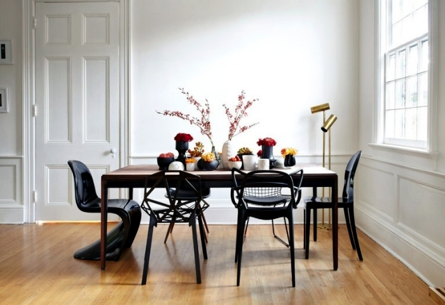 Dining room design is pure pleasure: 107 Ideas