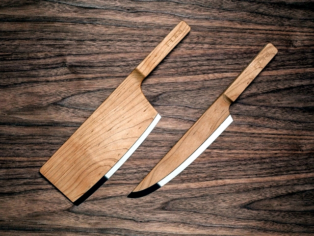 Redesign Knife Set - whimsical accessory for the modern kitchen