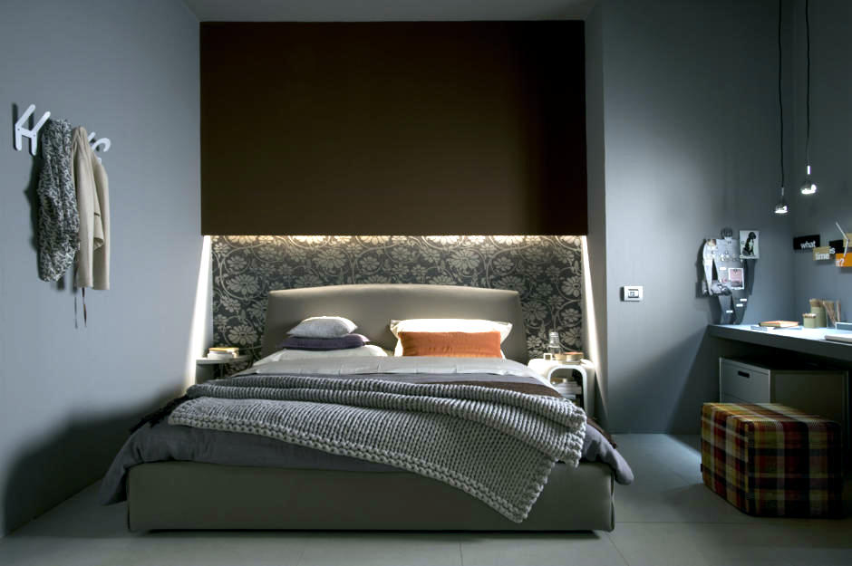 convey comfort the indirect lighting that casts a dramatic lighting