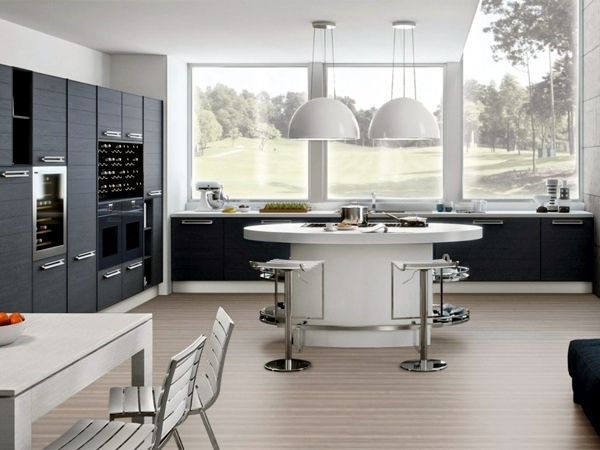 Modern fitted kitchen tips for the functional design for Fitted kitchen designs