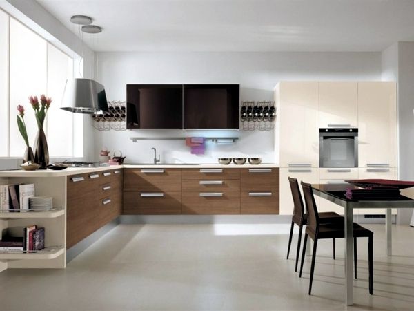 Modern fitted kitchen - Tips for the functional design