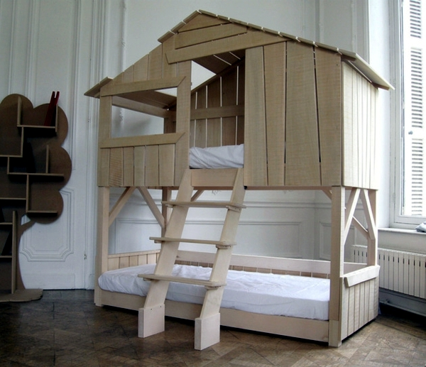 Bed design gives kids the individuality of children