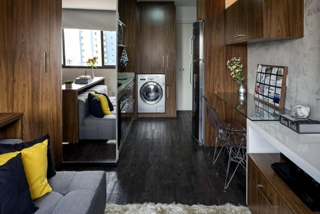 set up small apartment