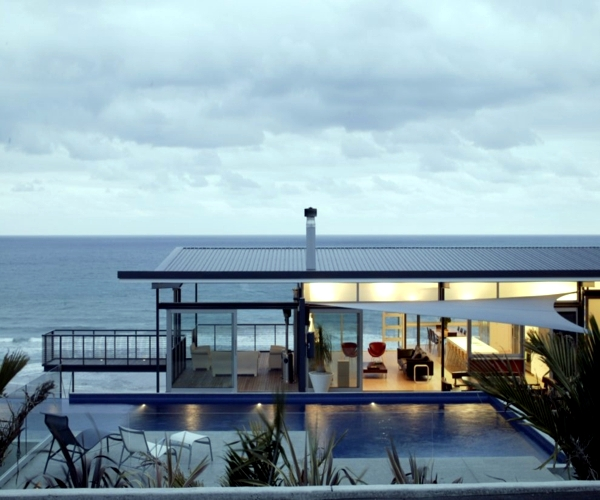 Okitu house a coastal home in new zealand interior for House interior design new zealand