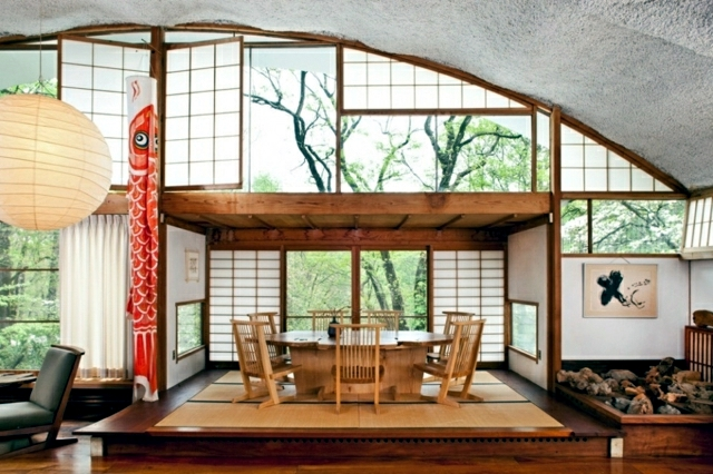 Creating a zen atmosphere interior design ideas japanese for Modern zen window grills design