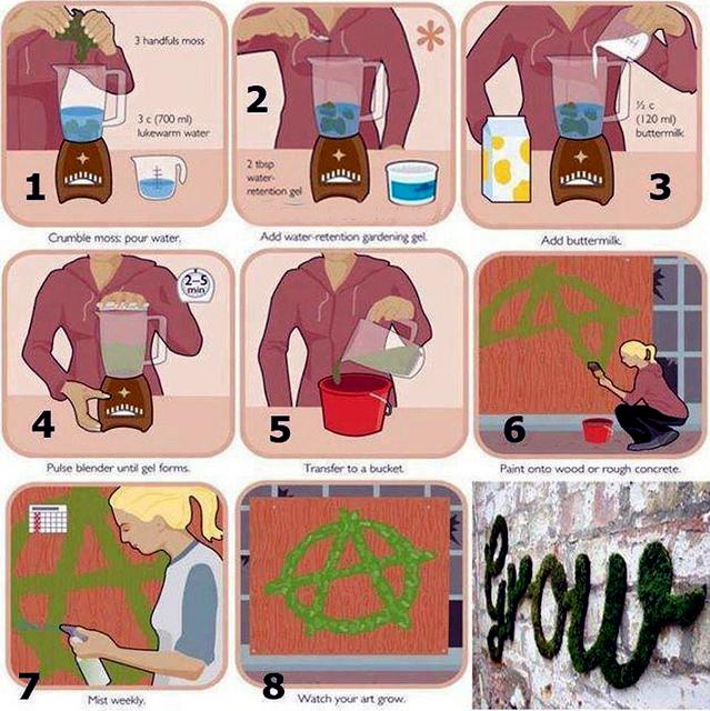 Projects foam green graffiti Anna Garforth