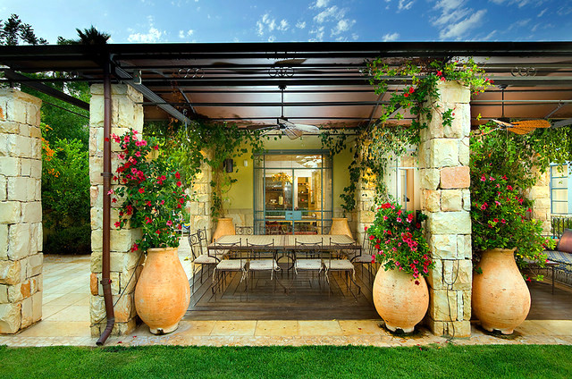 3 Ideas for terrace design - here is your favorite look?