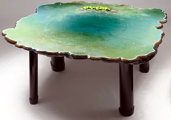Schön Collection Of Tables Gaetano Pesce Limited Clever Optical Water