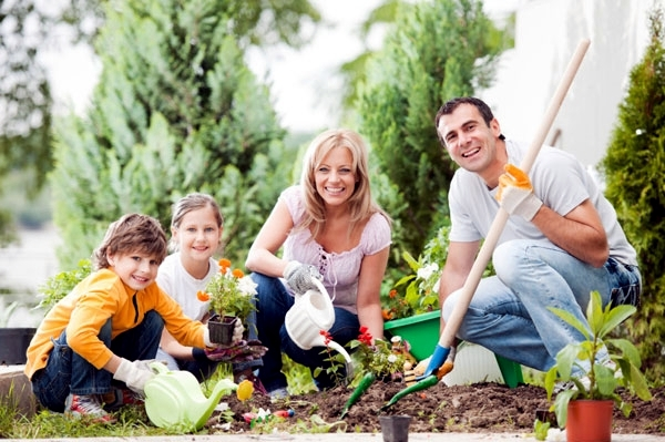 Designing the garden with and for children tips for for Gardening with children