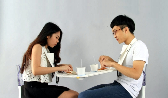Folding picnic table for two - fresh idea Taiwan
