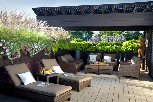A beautiful balcony and terrace design - Make your mark one!