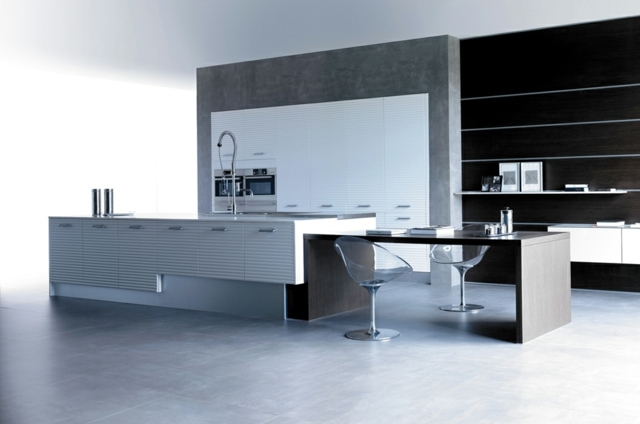The ultra modern timber kitchen - minimalistic elegance Mobalco