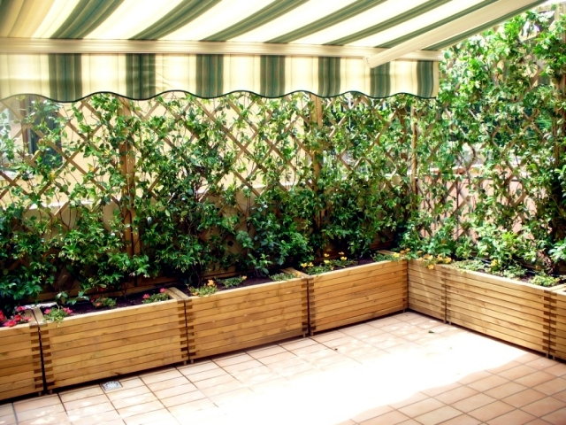 Windbreaks for balcony what options are available for Garden windbreak designs