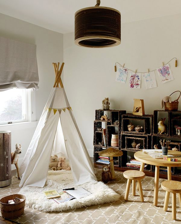 Created in the play area for kids - 40 ideas colors