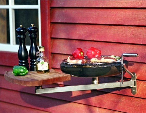BBQ on the balcony or in the garden - coal gas or electric?