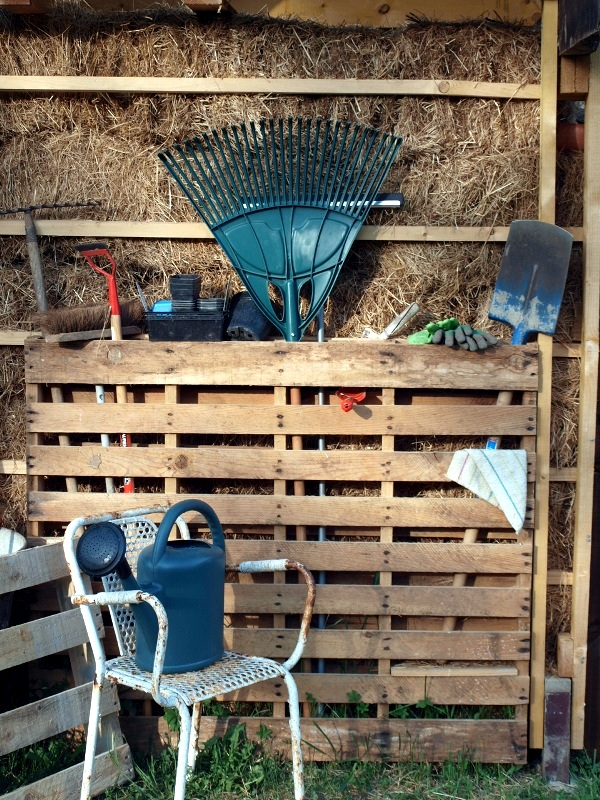 The storage of gardening equipment - 16 ideas for the final cleaning