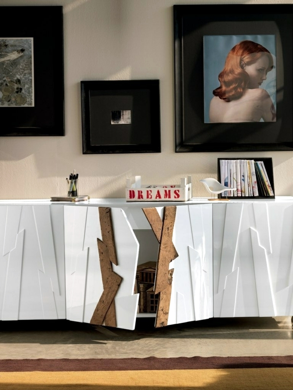 The wooden chest - furniture with many applications