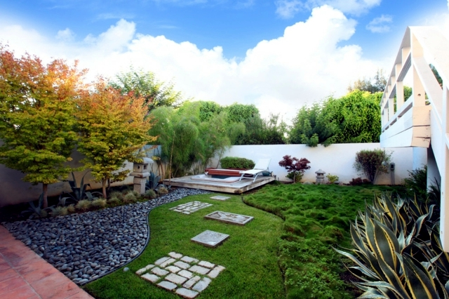 Garden design ideas the best trees for small gardens Best backyard landscape designs