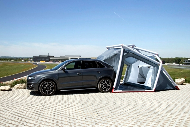 Heimplanet developed a special tent for camping Audi Q3 Quattro
