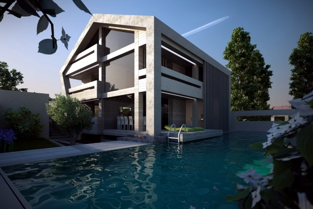 16 ideas for the exterior design of the pool for your relaxation