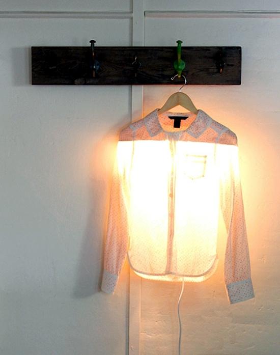 Making lampshade itself