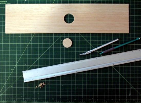 Tinker lamp yourself - original idea with hangers