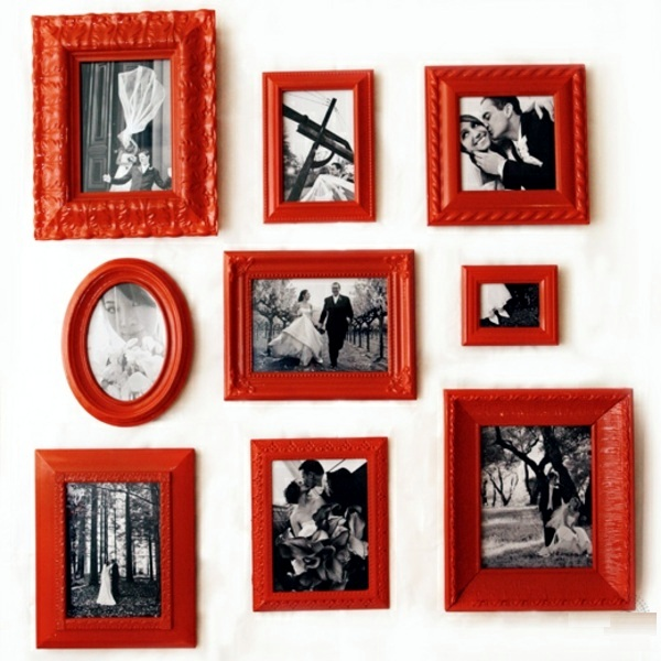 make picture frames and make a creative photo wall 15 ideas make picture frames and make