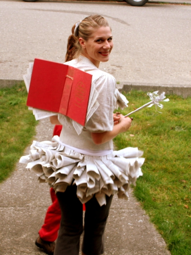 Costumes evoke quickly - Simple Ideas for carnival