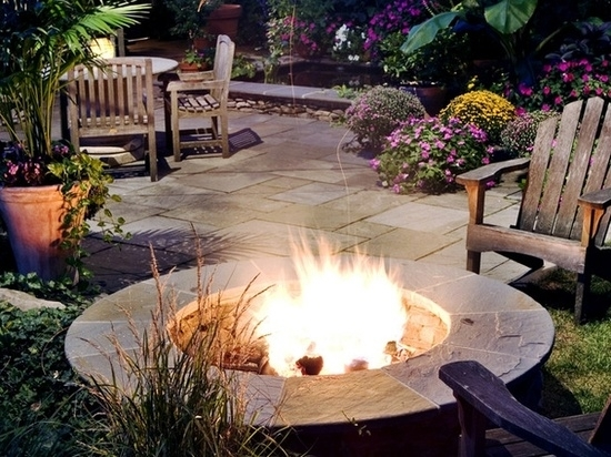 Make Drawings Campfire Area 17 Comfortably Courtyard