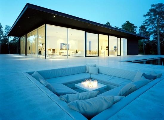 Make drawings campfire area 17 comfortably courtyard garden