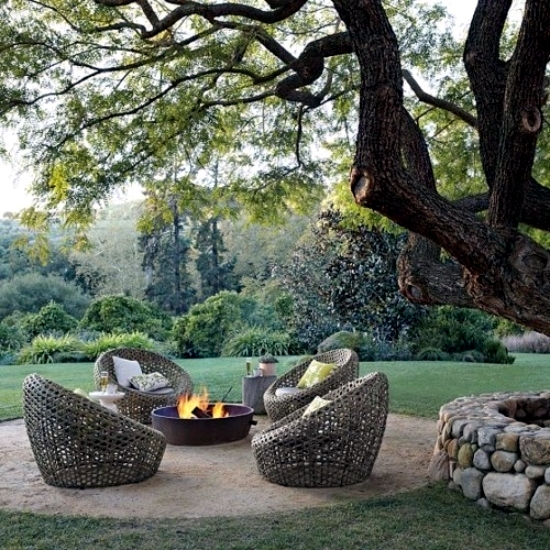 Make drawings campfire area 17 comfortably courtyard for Creating a courtyard garden
