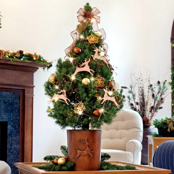 little christmas tree - Small Christmas Tree Decorating Ideas