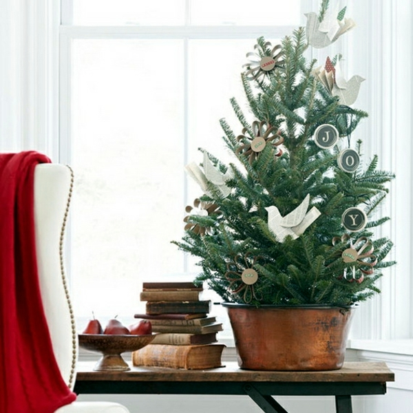 Tabletop Decorated Christmas Tree