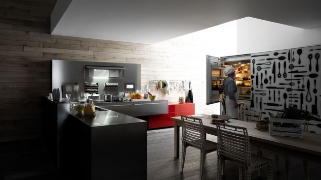 From Italian Manufacturer Pedini Kitchen Is Characterized