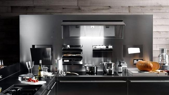 Kitchen utensils artistic aesthetic Artematica Valcucine