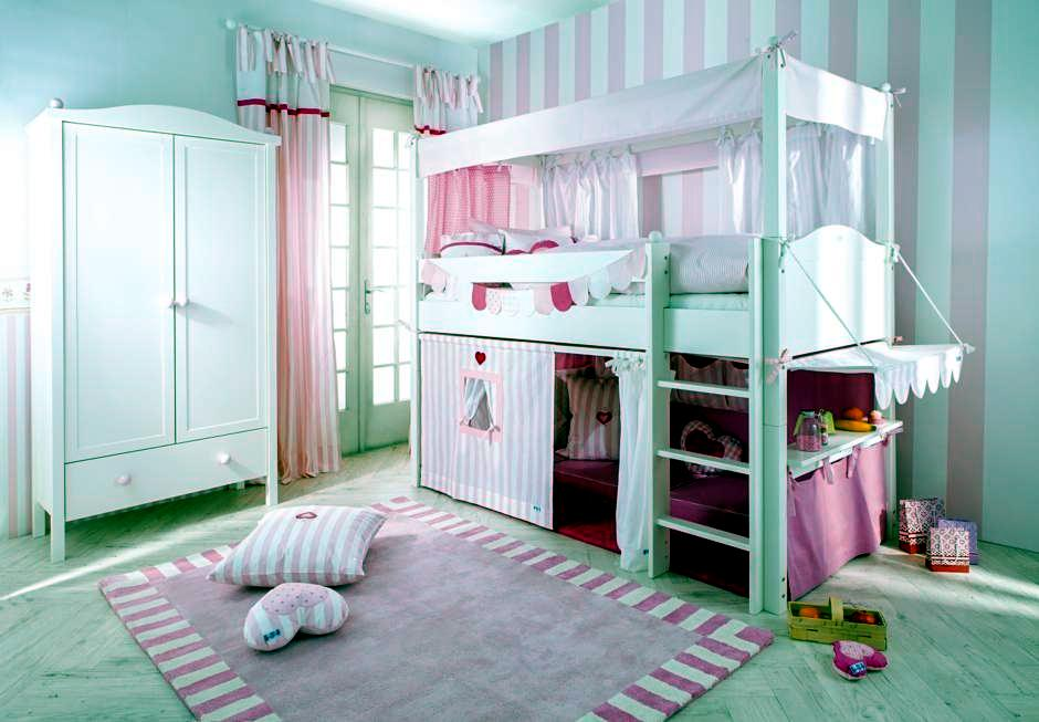 In Bed Toy Shop Pink Girls Room Interior Design Ideas Ofdesign