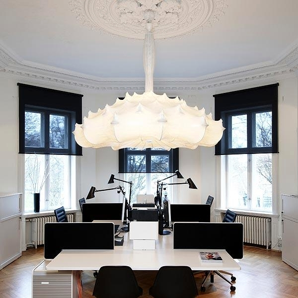 Elegant Pendant Lamp With Diffuse Light Quot Zeppelin Quot By