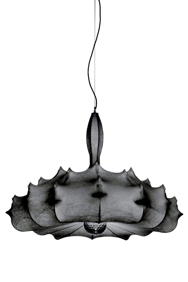 "Elegant pendant lamp with diffuse light ""Zeppelin"" by Marcel Wanders"
