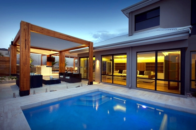 Contemporary Wooden Terrace Interesting Creative Ideas